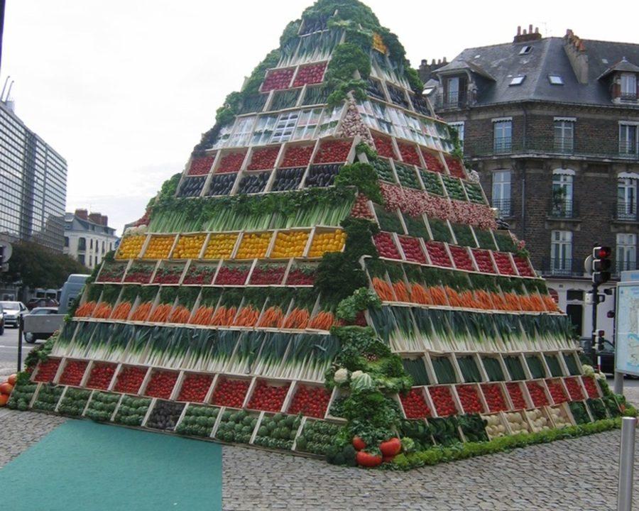 Pyramide fruits et légumes